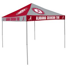 NCAA Alabama Crimson Tide Chckrbrd Tent
