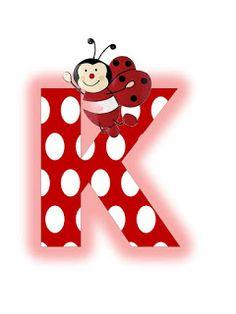 S.T.R.U.M.F.: Litere mari si cifre buburuze Alphabet, Alfabeto Animal, Baby Posters, Miraculous Ladybug, Smurfs, Insects, Symbols, Letters, Christmas Ornaments