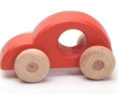 Wooden car wooden toys kids toy toddler toy wood toy