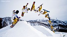 Snowboard - Sequence Photography    http://lumberjackjohnny.com/1083/how-to-make-a-snowboard-rail-for-30/