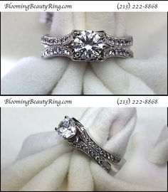Beautiful Wedding Rings, Beautiful Engagement Rings, Perfect Engagement Ring, Jewelry Model, Cute Jewelry, Women Jewelry, Palladium Engagement Rings, Antique Engagement Rings, Platinum Wedding Rings