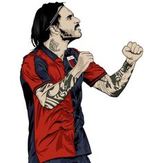 #Pinilla #commissined #artwork for Erobet.it  #vector #illustration #portrait #illustrator #digitalart #design #adobe #wacom #behance #creative #BestVector #follow #artwork #ilustracion #digital #graphic #fanart #design #art #work #Italy #SerieA #soccer #football #player #Genoa #Calcio (en Doctor Zamenhof Estudio)