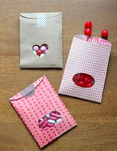 you are my fave: diy valentine treat bags - valentine's day crafts kids toddlers
