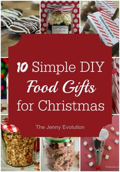 12 Easy DIY Food Gifts for Christmas that you can involve the kids in as well | The Jenny Evolution