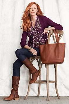 c982ca528ee3b 5 reasons why you should stop wearing black - Tabitha Dumas Purple Cardigan  Outfits