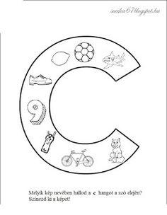 Játékos tanulás és kreativitás: Kisbetűkben képek a hangfelismerés gyakorlásához Dysgraphia, Special Education, Kids Learning, Folk Art, Symbols, Letters, Colours, Teaching, Google