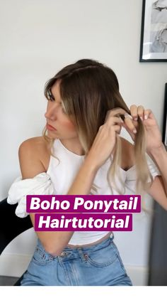 Work Hairstyles, Easy Hairstyles For Long Hair, Messy Braided Hairstyles, Heatless Hairstyles, Hairdos, Summer Hairstyles, Updos, Hair Up Styles, Medium Hair Styles