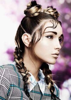 Malisa Masci коллекция 2015 Street Fusion   Парикмахерские тренды