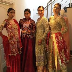 Pakistani couture by DeepakPerwani's Bridal Atelier launch✨check out those stunning bridals❤️ media and PR by takell #bridalAtelier #takeII  #happeningnow @deepakperwaniofficial #ilsmagzine #karachi @takell_pr