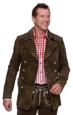 Stockerpoint Trachten Jacket Cardigan Charcoal