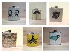Flasks from Whimsy & Ink