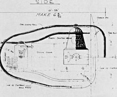 Blueprints of the time machine robots ray guns rockets blueprints for the time machine 1960 designed by bill ferrari malvernweather Gallery
