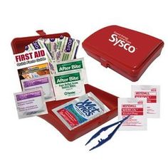 Get a custom logo'd Frist Aid kit to promote health and safety during the month of March. March is the month we are observing #AmericanRedCross get your promo items now to support the cause #March