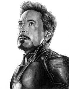 Tony Stark (Iron Man) - Avengers (Endgame)jpg by - Marvel Universe Iron Man Avengers, Avengers Art, Iron Man Drawing, Avengers Drawings, Vegito Y Gogeta, Iron Man Art, Wolverine Art, Man Sketch, Marvel Fan Art