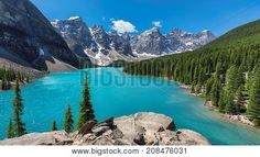 While you're in Banff, you'll definitely want to make a few day trips to explore surrounding areas. Here are some of my top recommendations for Banff day trips. Torres Del Paine National Park, Banff National Park, National Parks, Moraine Lake, Affordable Vacations, Lake Photos, Visit Canada, Turquoise Water, Beautiful Places In The World