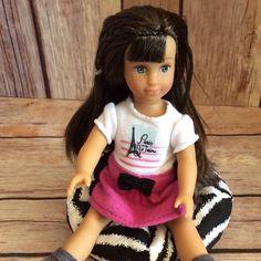 "Furniture, chair for a Mini 6 1/2"" American Girl Doll"