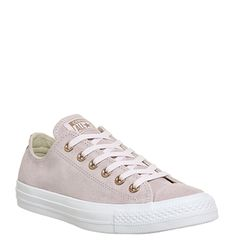 Converse, All Star Low Leather, Artic Pink Blush Gold White Exclusive