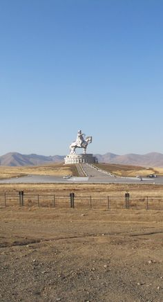 #Genghis_Khan_Equestrian_Statue at #Erdene, Töv - #Mongolia http://en.directrooms.com/hotels/continent/1/