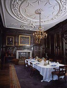 tredegar house, dining room