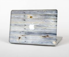 """The Light Tinted Wooden Planks Skin Set for the Apple MacBook Pro 13"""" with Retina Display"""