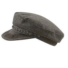 573dbba9a9f Aegean Mens Grey Wool Greek Fisherman Cap Grey 7 1 4 Review Fisherman s Hat