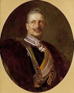 Kaiser Wilhelm II by Alfred Schwarz., C.1910s.
