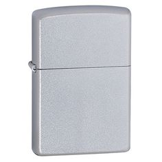 The personalized engraved Zippo satin chrome lighter is perfect for everyday use. The unpretentious design features the classic windproof Zippo design with a satin chrome finish. The lighter may be personalized with your name, initials or special message. Each lighter holds up to 2 lines of customized text, up to 15 characters on each line. Our personalized Zippo lighters come packaged in a handsome black plastic gift box and are backed with the famous Zippo lifetime guarantee. Buy one of…