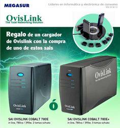 Promoción SAIs OvisLink con regalo de un cargador