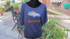 Denver Broncos Rhinestone Shirt