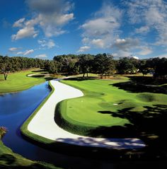 TPC Sawgrass Stadium Course in Ponte Vedra, Florida. May well be the most difficult course I've ever played.