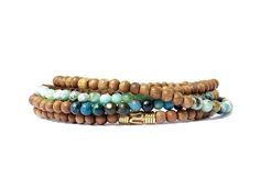 Elastic Thread, How To Increase Energy, Simple Jewelry, Bracelet Making, Turquoise Bracelet, Beaded Bracelets, Gemstones, Gold, Pearl Bracelets