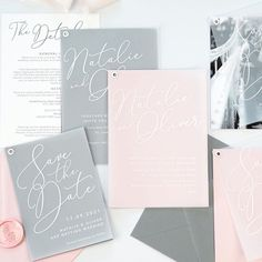 New vellum wedding stationery by Project Pretty Some Times, Wedding Stationery, Pretty In Pink, Getting Married, Knowing You, Product Launch, Invitations, Let It Be, Shit Happens