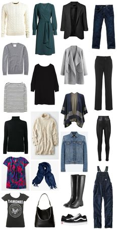 A Casual Capsule Wardrobe for Fall to Winter