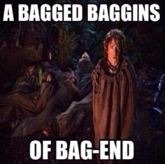 Bagged Baggins of Bag End