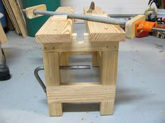 Sawbench - by SilverbackReef @ LumberJocks.com ~ woodworking community