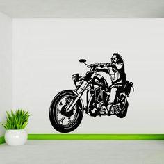 Wall decal art decor decals sticker bedroom biker stroll mural tribal dirt bike moto motorcycle jump bike GP (m836) DecorWallDecals http://www.amazon.com/dp/B00HPWN8GY/ref=cm_sw_r_pi_dp_F.o2ub07HCACP