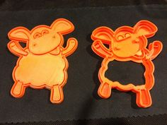 Timmy Time Sheep Cookie Cutter by idea_beans.