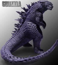 Godzilla 2014 Statue
