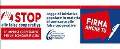 I soci di Coopservice delle sezioni di Parma e Reggio Emilia, si schierano contro le false cooperative impegnandosi in prima persona nella raccolta firme per il sostegno alla legge di iniziativa popolare contro le false cooperative, promossa a livell