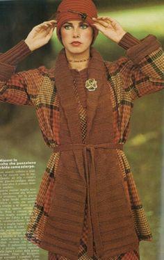 Vogue Italia 1973 Dayle Haddon Photo by Arthur Elgort