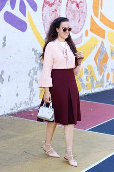 The Style Addition: BLUSH X BURGUNDY