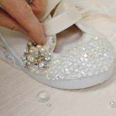 Wedding Shoe Workshop. Got shoe lust? Get the girls together for one and a half hours of creative shoe decorating fun and bonding (and that's not just the glue!) You bring the shoes - heels or pumps - then let our expert designers guide you through decorating them using ribbons, glitter, beads, pearls or even semi-precious stones.