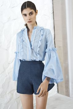 Fashion label Alexis' Resort Collection combines feminine and tasteful ruffles, with luxe fabrics, delicate lace, and flawless design. Fashion Show, Fashion Outfits, Applique Dress, Fashion Labels, Holiday Outfits, Pretty Outfits, Editorial Fashion, Beautiful Dresses, Ready To Wear