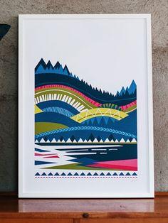 Wallmark formstudio Funäsdalen Print (50x70cm)
