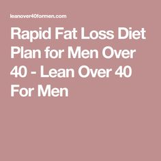 If you're looking for a Rapid Fat Loss Diet Plan that makes losing fat a breeze, then you're going to want to check out this guide to sustainable fat loss! Losing Weight After 40, Weight Gain, Diets For Men, Men Over 40, Blood Type Diet, Diet Plans For Men, Types Of Diets, Fat Loss Diet, Reduce Belly Fat