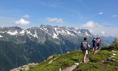 French and Italian Alps walking and hiking tour