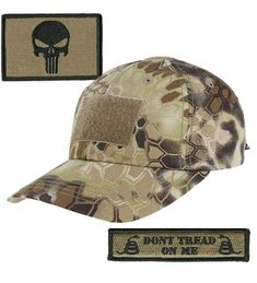 01bbf379a5e KRYPTEK-Highlander Tactical Patch   Hat Bundle (2 Patches + Hat) Punisher  CK11MBGBTKN