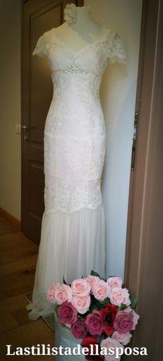 La stilista della sposa  .abito da sposa esclusivo