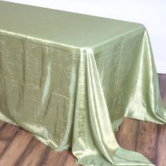 Decorate any event's ambiance with efavormart's exclusive line of Table and Chair Decorations. High quality Crinkle Crushed Taffeta Table Covers, Tablecloths, Table Runners, Table Overlays, Table Skirts and more are available at wholesale rates.