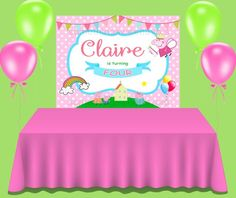 This item is unavailable Custom Backdrops, Peppa Pig, Banner, Birthday Cake, Etsy Shop, Unique Jewelry, Handmade Gifts, Check, Banner Stands